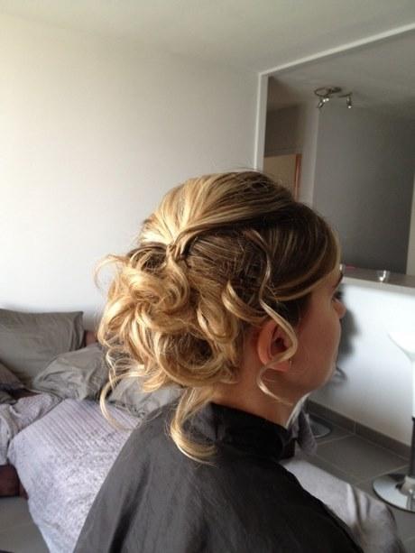 Chignon cheveux fins mariage