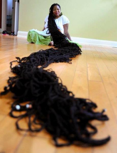 Cheveux plus long du monde