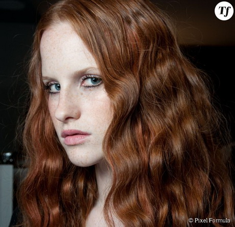 ondulation wavy cheveux