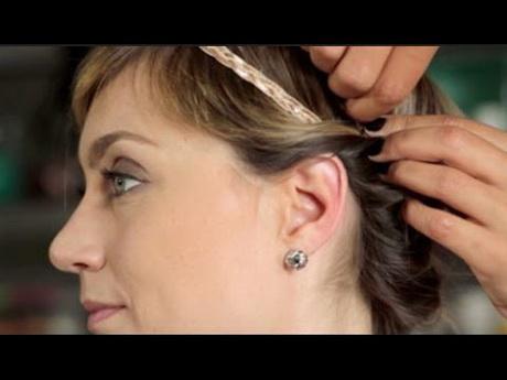 Coiffure pour cheveux courts et fins - Comment se couper une frange sur le cote ...