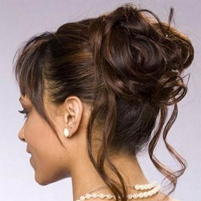 modele coiffure chignon mariage. Black Bedroom Furniture Sets. Home Design Ideas