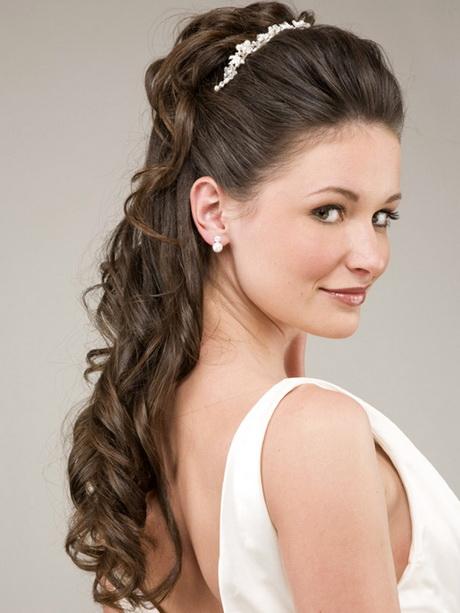 Modele de coiffure pour mariage cheveux long - Modele coiffure mariage ...