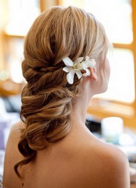 Chignon mariage cheveux fins