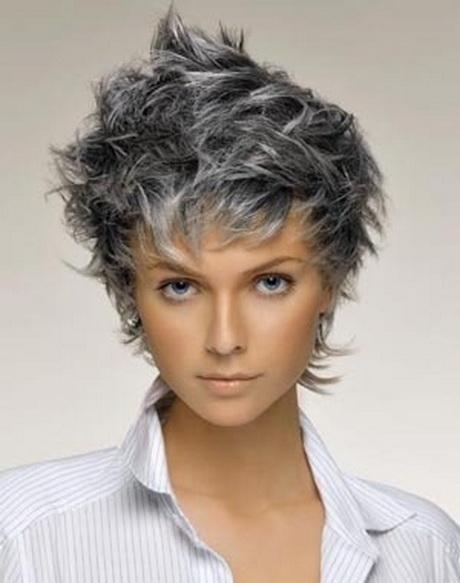 Coupe cheveux gris femme
