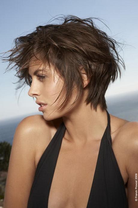 Coupe courte cheveux fins