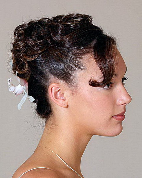 Coupe courte mariage