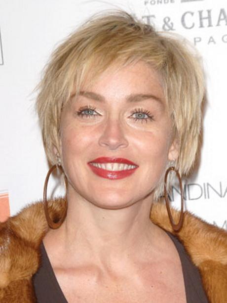 Coiffure Sharon Stone
