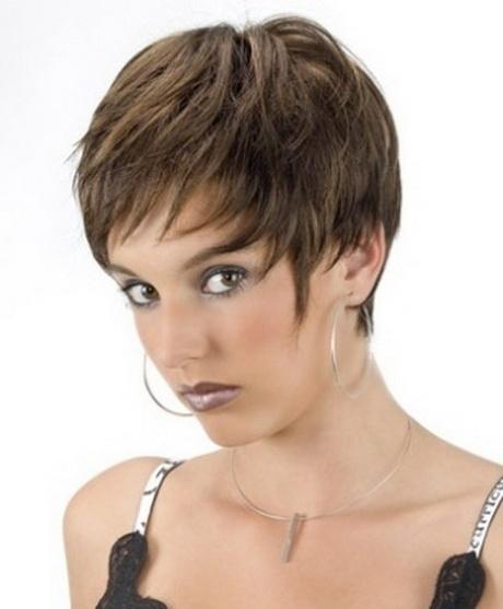 Modele coupe de cheveux court femme