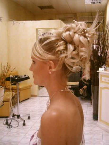 Modele de coiffure mariage