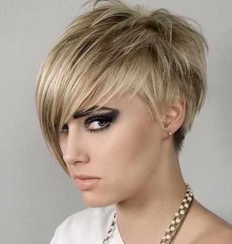 Modele de coupe de cheveux court femme 2014
