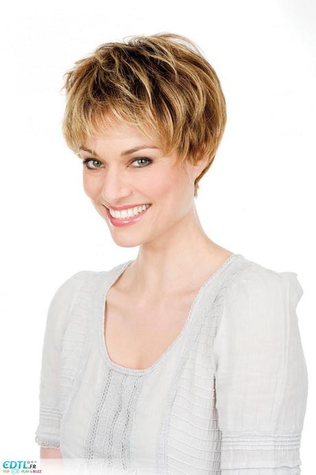 Modèle coiffure courte femme 2014
