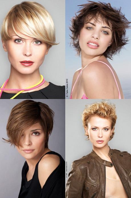 Photos coiffures courtes femmes