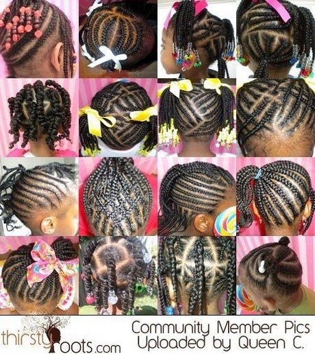 little black girl hair braiding styles coiffure tresse africaine enfant 7831 | coiffure tresse africaine enfant 20 12