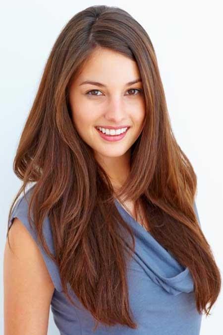 Modele coiffure cheveux long degrade