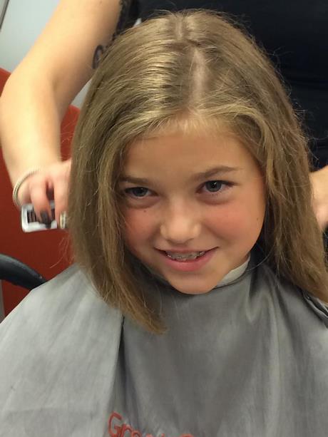 Coupe de cheveux pour petite fille de 10 ans